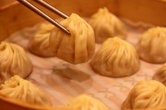 Mehlkloß Xiaolongbao Taiwan Lizenzfreies Stockfoto