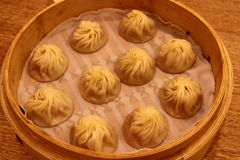 Mehlkloß Xiaolongbao Taiwan Stockbilder