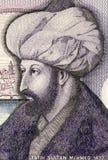 Mehmed il conquistatore Fotografia Stock