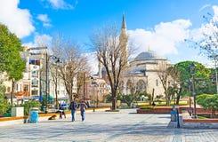 The Mehmet Akif Ersoy Park Stock Photo