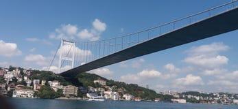 Mehmet fatih sułtan mostu Obrazy Stock