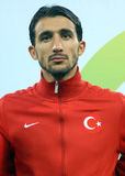 Mehmet Topal in Romania-Turkey World Cup Qualifier Game Royalty Free Stock Images