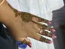 Mehndi Imagens de Stock