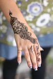 Mehndi Royalty Free Stock Photos