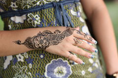 Mehndi Stock Photography