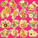 Mehndi design. Patterns. Royalty Free Stock Image