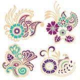 Mehndi design. Patterns. Stock Photography