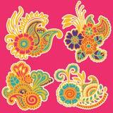 Mehndi design. Patterns. Stock Images