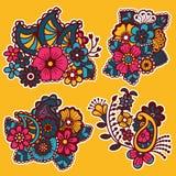 Mehndi design. Patterns. Stock Image