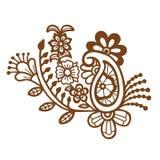 Mehndi design. Patterns. Royalty Free Stock Photography