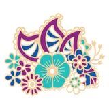 Mehndi design. Patterns. Royalty Free Stock Images