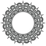 Mehndi, Indiański henna tatuażu wzór lub tło, Zdjęcia Royalty Free