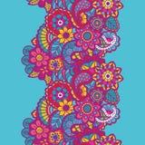 Mehndi ribbon. Paisley design. Royalty Free Stock Photography