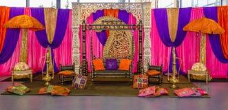 Mehndi stage Royalty Free Stock Photo