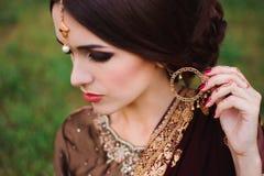 Mehndi tattoo. Woman Hands with black henna tattoos. India national traditions. Mehndi tattoo. Woman Hands with black henna tattoos. India national traditions royalty free stock image