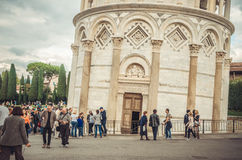 Mehr als 800 Jahre Wunder - Pisa-Turm Stockbild