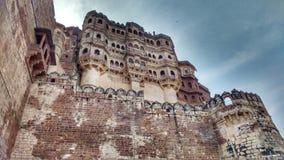 Mehrangarh堡垒乔德普尔城印度 库存图片