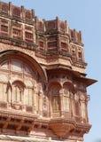 Mehrangarh堡垒,乔德普尔城 库存图片