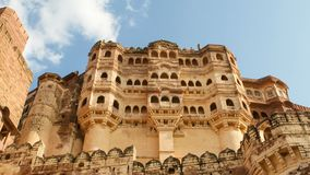 Mehrangarh ή οχυρό Mehran στο Jodhpur, Rajasthan, Ινδία στοκ φωτογραφίες