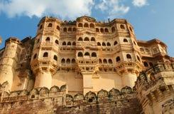 Mehrangarh ή οχυρό Mehran στο Jodhpur, Rajasthan, Ινδία στοκ εικόνες