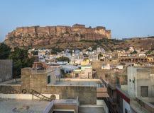 Mehrangarh-Festung, Jodhpur, Indien Lizenzfreies Stockbild