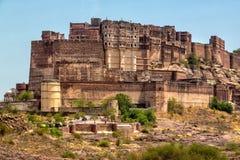 Mehrangarh fort Zdjęcia Royalty Free