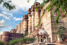Mehrangarh fort in India Royalty Free Stock Images