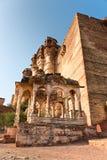 Mehrangarh fort, Jodhpur, Royalty Free Stock Photography