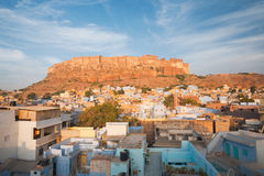 Mehrangarh Fort Jodhpur Blue Royalty Free Stock Image