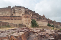 Mehrangarh fort at Jodhpur India Royalty Free Stock Photos