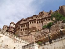 Mehrangarh Fort, Jodhpur India Stock Photos