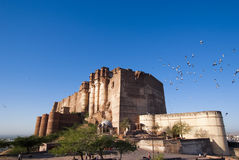 Mehrangarh Fort in Jodhpur, India Royalty Free Stock Photography