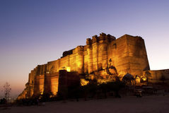 Mehrangarh Fort in Jodhpur, India Royalty Free Stock Images