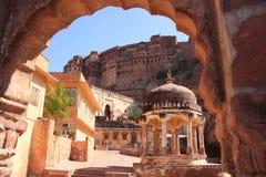Mehrangarh Fort, Jodhpur, India Stock Photo