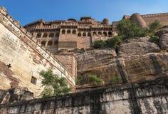 Mehrangarh Fort, Jodhpur, Indien Stockfotografie