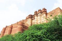 Mehrangarh fort jodhpur Indien Royaltyfria Foton