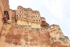 Mehrangarh fort jodhpur Indien Arkivbilder