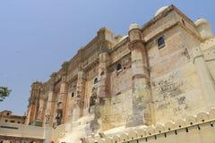 Mehrangarh fort jodhpur Indien Royaltyfri Bild