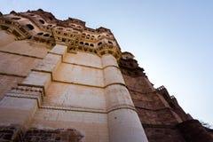 Mehrangarh Fort, Jodhpur, Rajastan. The Mehrangarh Fort, Jodhpur, Rajastan Royalty Free Stock Images