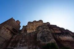 Mehrangarh Fort, Jodhpur, Rajastan. The Mehrangarh Fort, Jodhpur, Rajastan, india Stock Photography