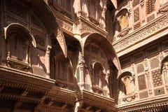 Mehrangarh fort, Jodhpur, Rajasthan obraz stock
