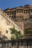 Mehrangarh fort in Jodhpur, Rajasthan, India Royalty Free Stock Images