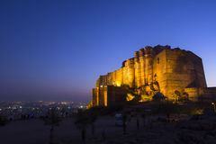 Mehrangarh Fort, Jodhpur, Rajasthan, INDIA Royalty Free Stock Photos