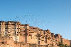 Mehrangarh Fort in Jodhpur Stock Photo