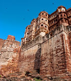 Mehrangarh Fort in Jodhpur, Rajasthan, India Stock Photos