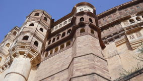 Mehrangarh Fort Jodhpur Rajasthan India. Historical place Kings Monuments tourist attraction great structure Stock Photo