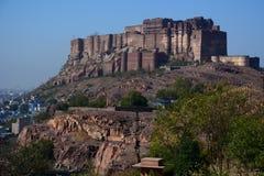 Mehrangarh Fort. Jodhpur. Rajasthan. India Stock Photos