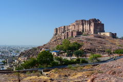 Mehrangarh Fort. Jodhpur. Rajasthan. India Royalty Free Stock Photos