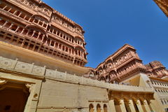 Mehrangarh Fort. Jodhpur. Rajasthan. India Stock Photo