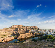 Mehrangarh Fort, Jodhpur, Rajasthan, India Royalty Free Stock Image